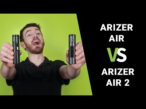 Arizer Air vs Arizer Air 2 Vaporizer Comparison Review – TVape