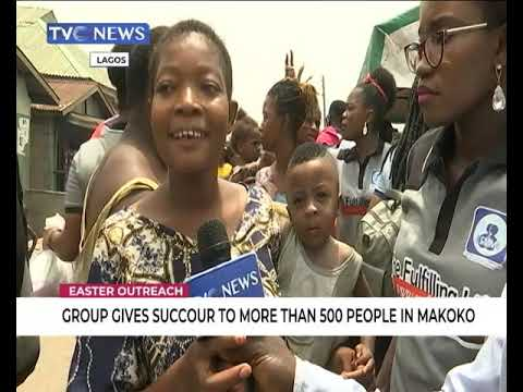 Group gives succour to more than 5000  people in Makoko