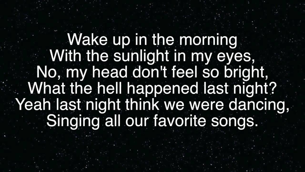 The Vamps Last Night Lyrics (3)