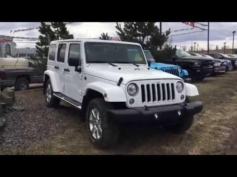 2018 Jeep Wrangler Sahara Unlimited JK | SCD2349 | Crosstown DCJR | Edmonton AB