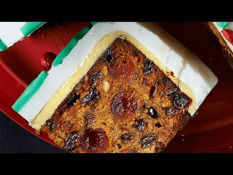 Christmas Cake Recipe - Xmas Cake Recipe - Easy Fruit Cake Recipe