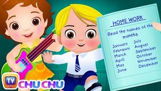 Months of the Year Song (SINGLE) – January February Song - Original Kids Nursery Rhymes | ChuChu TV thumbnail