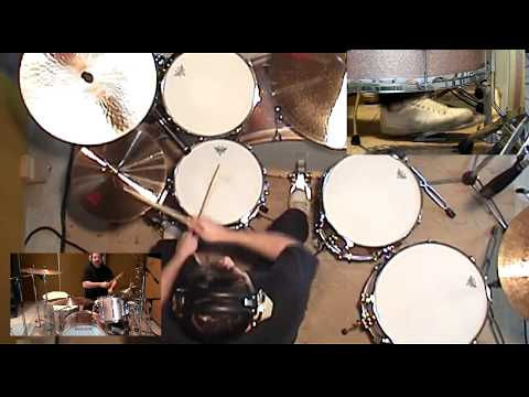 Led Zeppelin - Achilles Last Stand (drum cover)