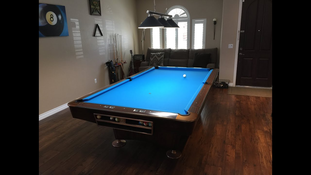 Brunswick Brookstone II Ft To Gold Crown Ft YouTube - Brunswick brookstone ii pool table