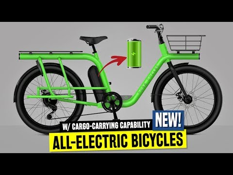 7 New Electric Bicycles w/ Smart Cargo Racks: Ranked by Pricing in 2019