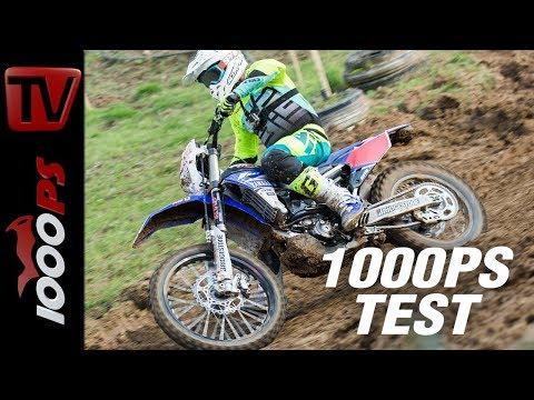 1000PS Test - Yamaha WR250F - leichtfüßiges Fahrwerk