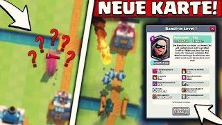 NEUE KARTE GAMEPLAY! | BANDIT TELEPORTIERT SICH UND ERHÄLT KEINEN SCHADEN! | Clash Royale Deutsch