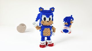 Sonic out of magnetic balls 네오큐브 소닉