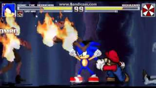 Video mugen mario and sonic boss rush part 1 download MP3, 3GP, MP4, WEBM, AVI, FLV Juli 2018