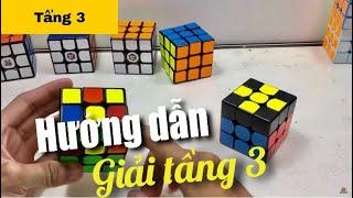 Hướng dẫn giải Rubik 3x3 [Chậm, đơn giản, dễ hiểu] Tầng 3