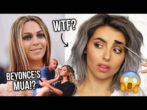 BEYONCES MAKEUP SECRETS! EVERYTHING I LEARNT FROM BEYS MAKEUP ARTIST! TESTING NEW TECHNIQUES!