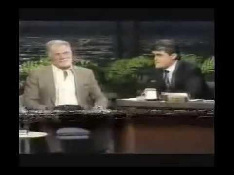Jack Palance - 1989 Tonight Show - Jay Leno (guest host)