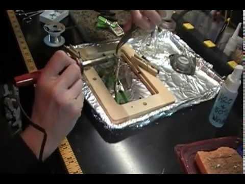 Soldered glass pendant closeup youtube soldered glass pendant closeup aloadofball Images