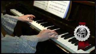 "STRAUSS ""The Blue Danube""  Waltz Piano Version"