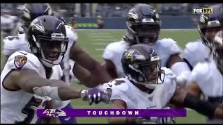 "Baltimore ravens ""Cocky"" Moments (Mark Ingram, Earl Thomas, Marcus Peters)"