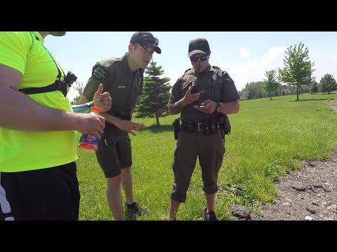 BUSTED for FISHING??? The DNR SHOWED UP!