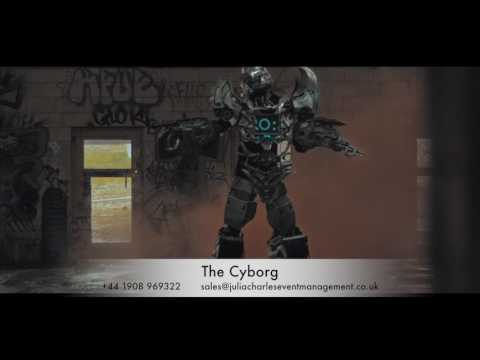 The Cyborg for Hire – Robot Entertainment - Leeds