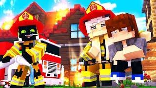 DIE FEUERWEHR IST DA!? - Minecraft [Deutsch/HD]