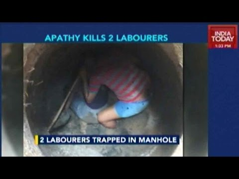 Bangalore: Workers Die Cleaning Manhole
