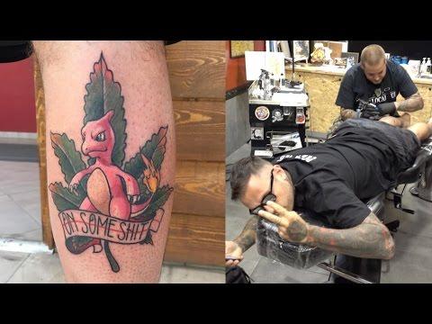 MY POKEMON GO TATTOO + I explain all my other tattoos