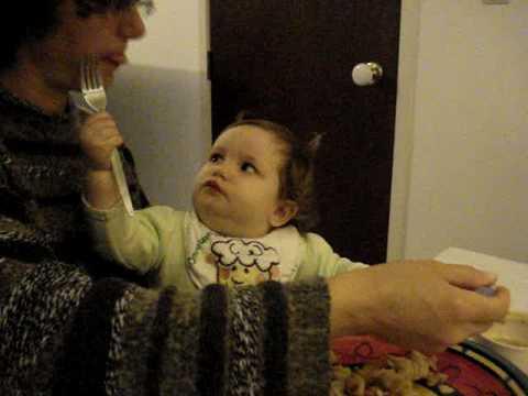 Feeding Mummy