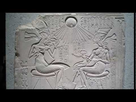 Akhenaten, Nefertiti, and Three Daughters