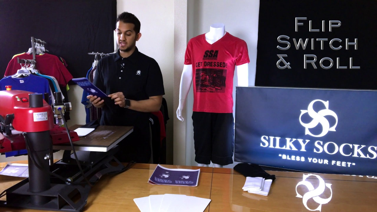 How to make sublimated socks using Silky Socks Athletic Socks