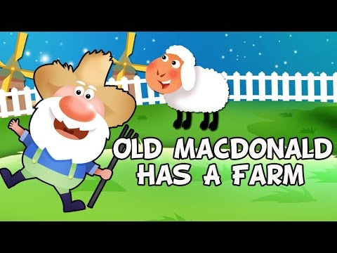 Old MacDonald Had A Farm Song Lyrics | Nursery Rhymes Collec
