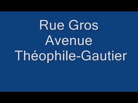 Avenue Théophile Gautier Paris Arrondissement  16e