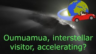 Oumuamua- What's up with its non-gravitational acceleration? thumbnail