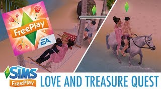 LOVE AND TREASURE QUEST WALKTHROUGH | The Sims FreePlay