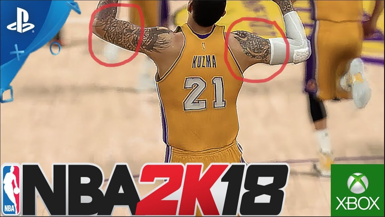 NBA 2K18 ROSTER - ULTRA ROSTER UPDATE! ROOKIES WITH TATTOOS, NBA 2K18  RATINGS! MORE ROOKIES!! (PS4)
