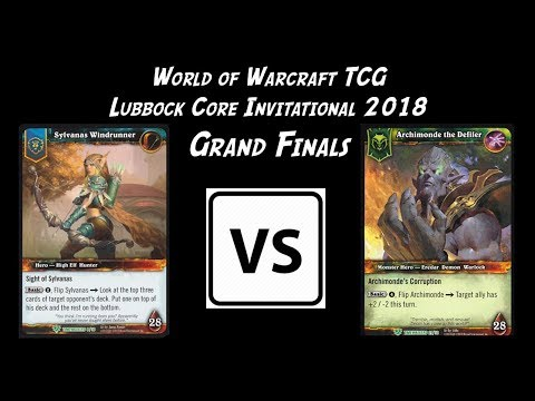 World Of Warcraft TCG - Grand Finals - Lubbock Core Invitational 2018