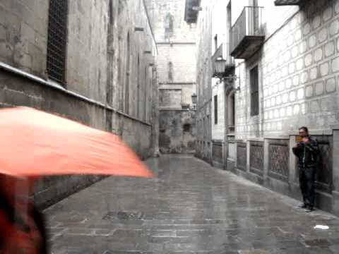 Raindrops, Back Alleys Of Barcelona And Pan Flute Acoustics