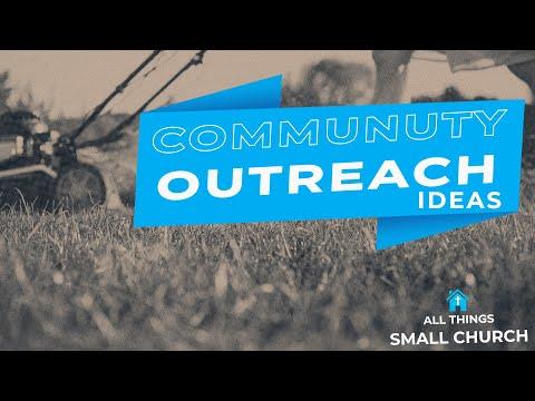 COMMUNITY OUTREACH IDEAS