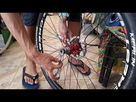 วิธีถอดใส่เฟืองท้ายจักรยาน+การถอดใส่ดุมโม่ xd เบื้องต้น W/Eng Sub