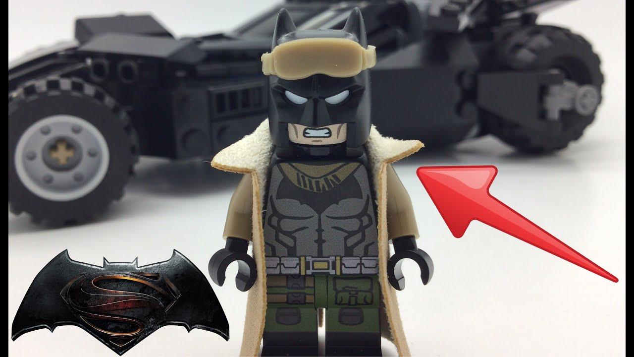 Lego Custom Batman Vs Superman Minifigure Review