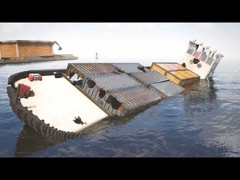 Sinking Cargo Ship | Teardown