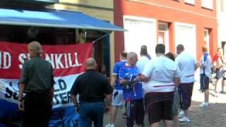 Randers FC - Linfield FC fans