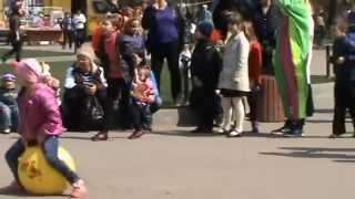 Детская Юморина 2014 в парке Горького.   Children laugh 2014 in Gorky Park.
