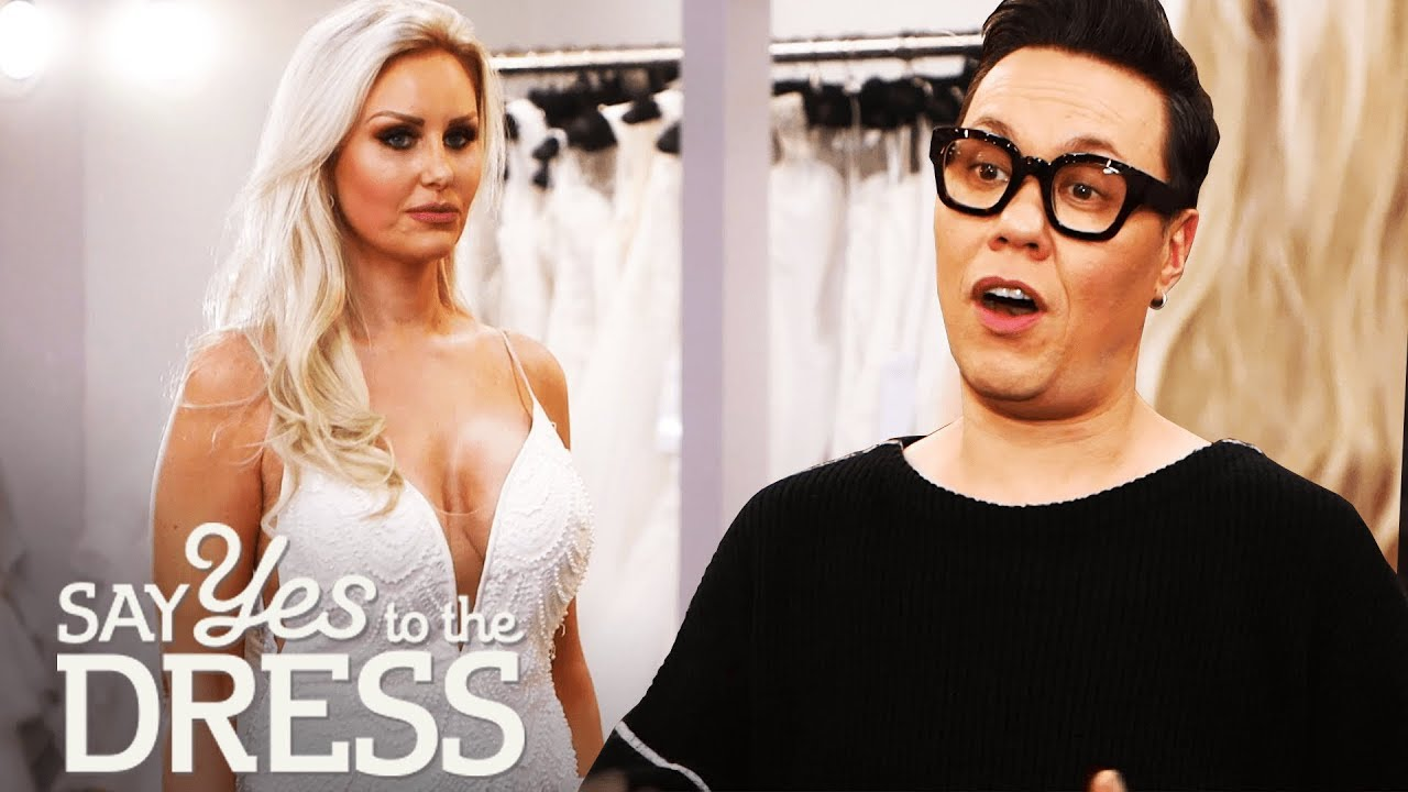 Gok Wan Helps Out A Picky Bride Who Has Tried On 40