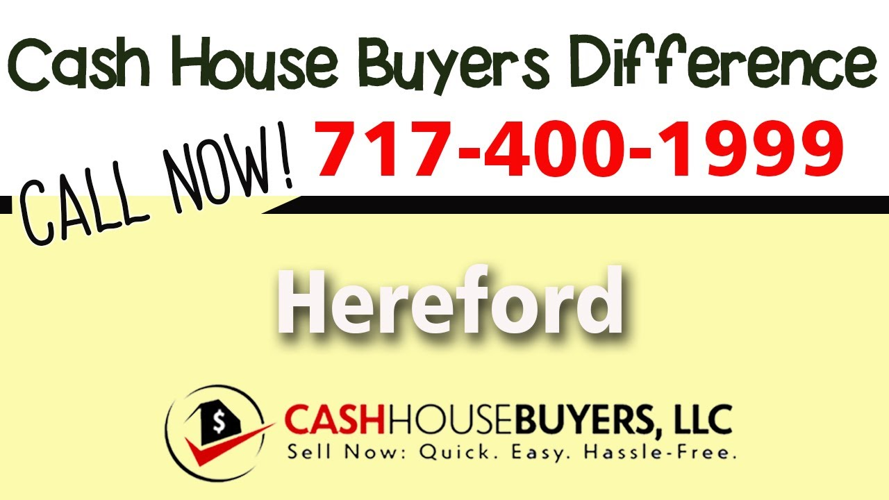 Cash House Buyers Difference in Hereford MD | Call 7174001999 | We Buy Houses