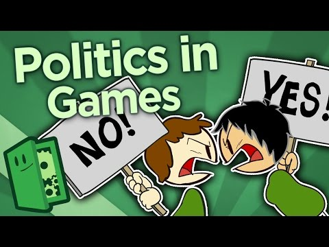 Politics in Games - All Media is Political - Extra Credits