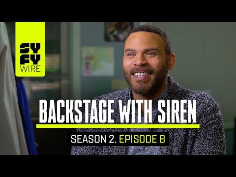 Fake Fire. Real Cold. (Siren Backstage) | SYFY WIRE