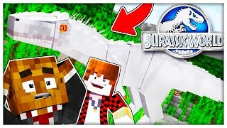 HELP ALL OF THE DINOS ESCAPED! w/ BAJANCANADIAN - THE ORIGINAL MINECRAFT DINOS JURASSIC WORLD #1