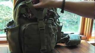 Maxpedition Noatak and Hook & Loop Double Pocket Insert