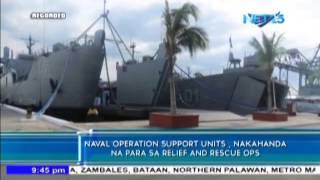 Philippine Navy, ready to help typhoon victims