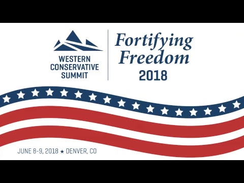 Western Conservative Summit 2018 Live Stream Saturday Evening Session