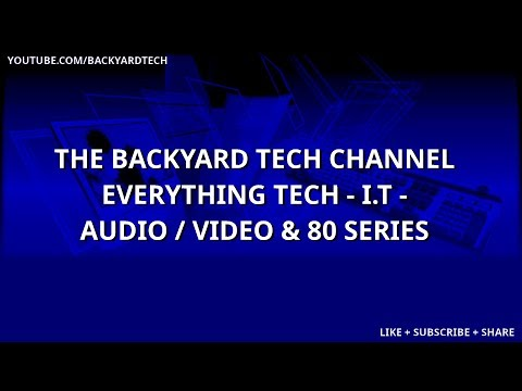 Backyard Tech TGIF Live Stream Conversations