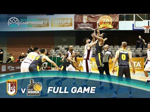 Bosna Royal Sarajevo v MHP RIESEN Ludwigsburg - Full Game - Basketball Champions League 17-18